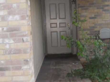The door where Alfred Aragon was shot and killed. Picture: KSAT ABC