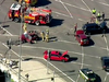 The mutli-car collission has injured several people. Picture: Channel 7