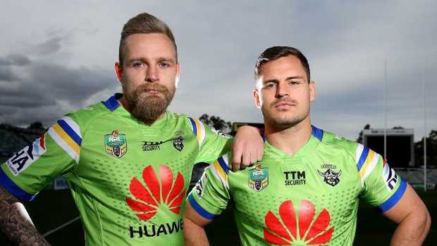 Blake Austin and Aidan Sezer must step up without Josh Hodgson. Picture: Kym Smith