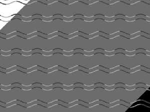 Do you see a wavy line or a zigzag?