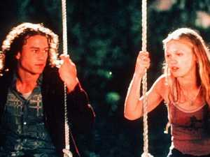 Julia Stiles has opened up about working with Heath Ledger in 10 Things I Hate About You.