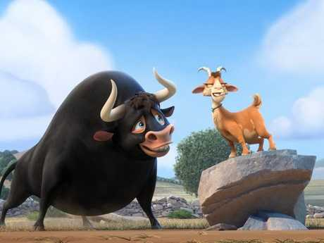 A scene from the movie Ferdinand.