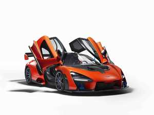 Most extreme roadworthy car ever: McLaren's Senna-sation