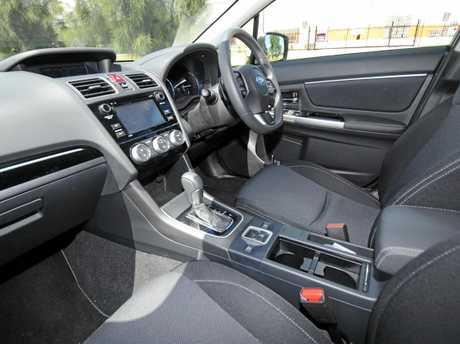 The Subaru Levorg GT.