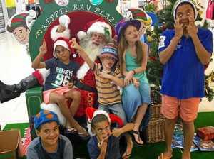 'Coolest' Santa just wants to spread joy