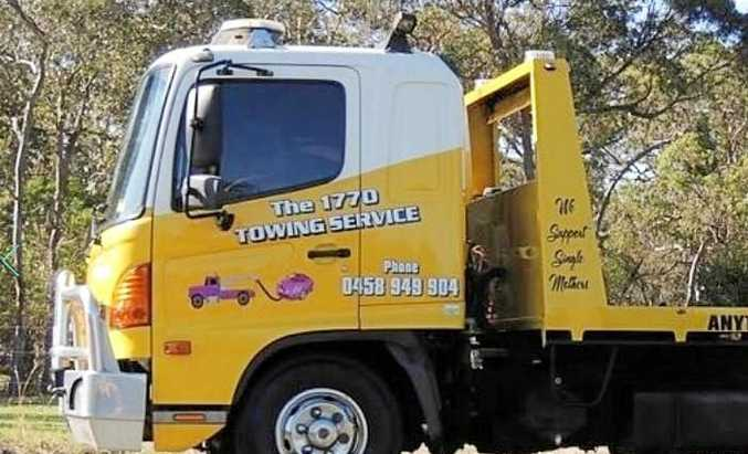 STOLEN: Peter Audie Ankers stole two tow trucks from the company he worked for, The 1770 Towing Service.