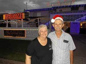 Weber couple light up their home
