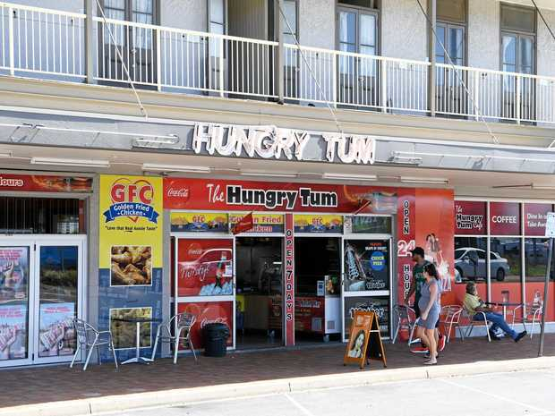 SEAGULL SWOOP: Adam Best, 19, stole chips from a customer at the Hungry Tum and then exposed himself to police.