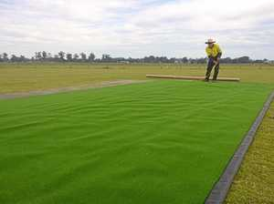 Council relays synthetic wickets for safety