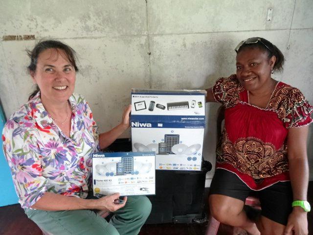 Debbie Butters in PNG.