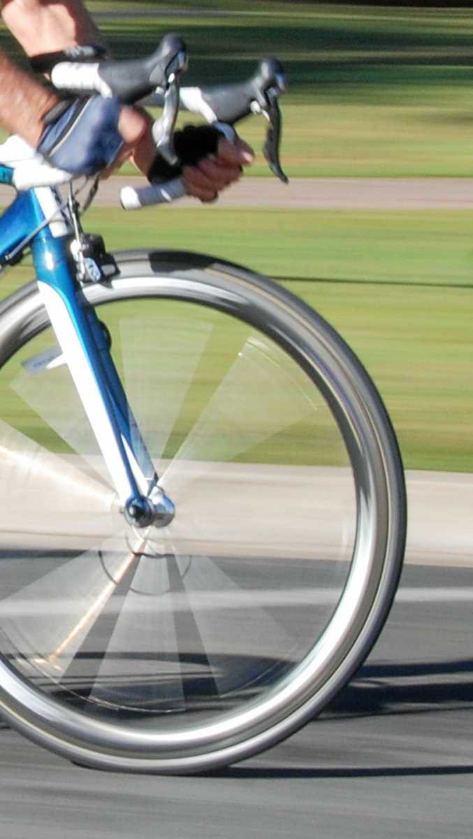 A bicycle rider is in a serious but stable condition after colliding with a car at Tanawha.