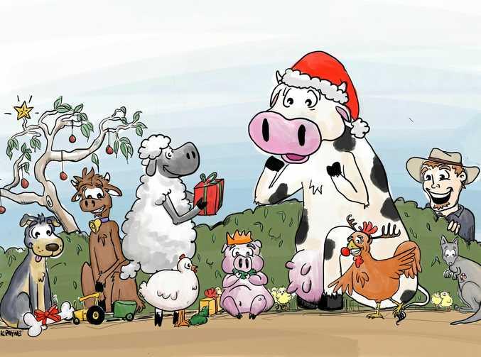 BUSH CHRISTMAS: Kirstin Payne cartoon.