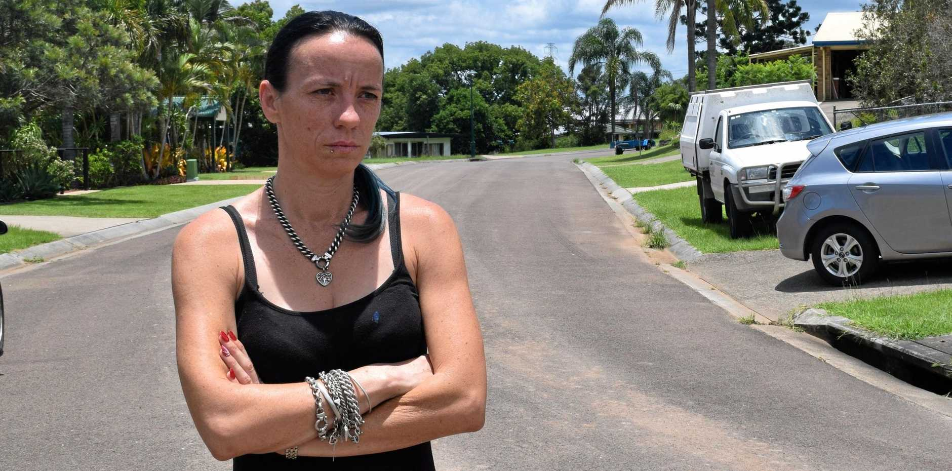 IN THE DARK: Sherylee Holt has been trying to find her stolen car (inset), which has disappeared again.