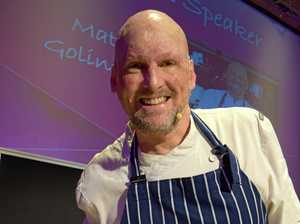 Celebrity chef appears at Coast networking breakfast