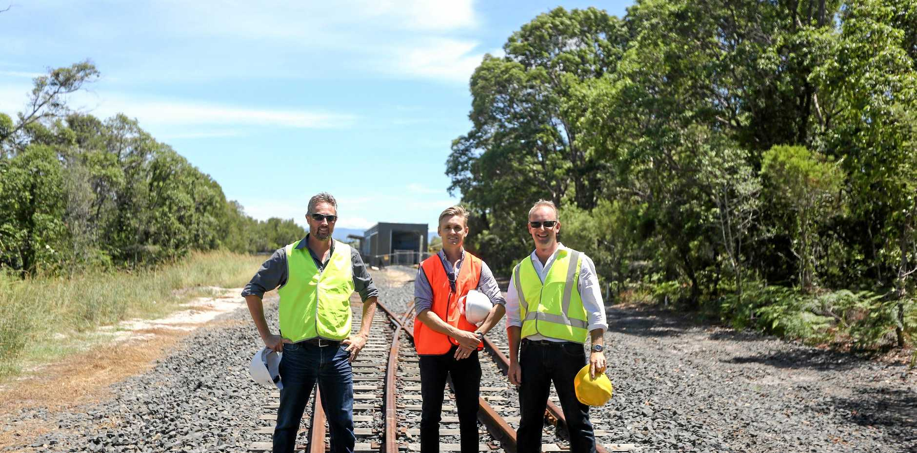 The solar train is coming to Byron Bay.