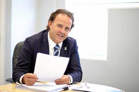 Visit Sunshine Coast CEO Simon Latchford.