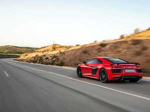 Exclusive $400,000 Audi R8 has power of 10