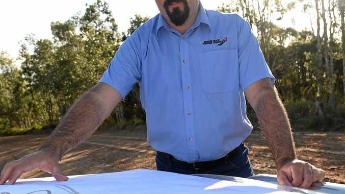 Wide Bay Motor Complex president Ben Collingwood.