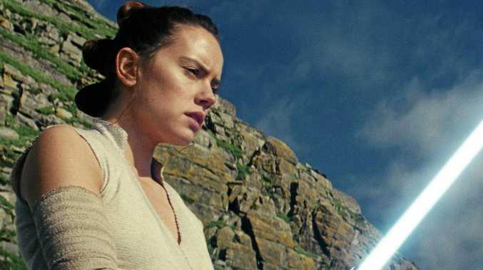 CULT FOLLOWING: Daisy Ridley as Rey in Star Wars: The Last Jedi.