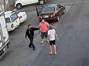 Man sobs as he's jailed for carpark hammer assault