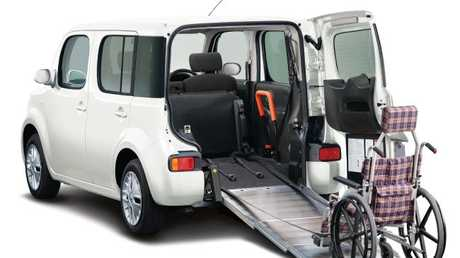 The Nissan Cube will only be able to come in as a specialist wheelchair access vehicle. Picture: Supplied.