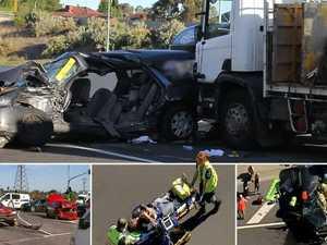 11-car crash creates horror traffic in Melbourne