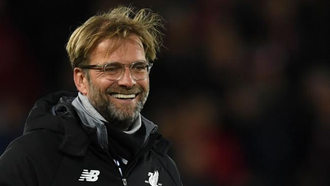 Liverpool's German manager Jurgen Klopp. / AFP PHOTO / Paul ELLIS