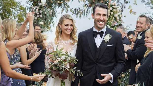 Kate Upton, Justin Verlander Share Photos, Details Of Stunning Wedding