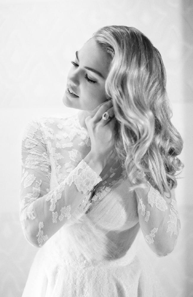 Upton wore Valentino for the ceremony. Photo Credit: KT Merry/Vogue Magazine