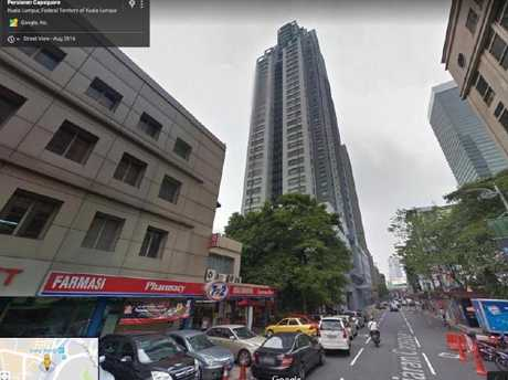 The Kuala Lumpur high-rise Ivana Smit fell from