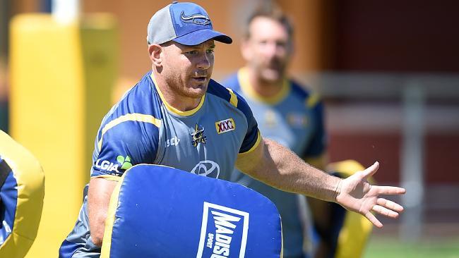 North Queensland Cowboys Pre Season Training. Matt Scott. Picture: Alix Sweeney