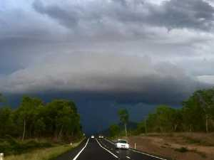 Freak storm lashes north Queensland