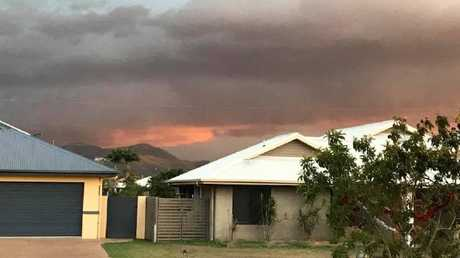 Storm hits Townsville.
