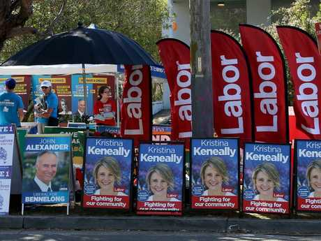 All eyes will be on this north-west Sydney electorate on Saturday. Picture: Toby Zerna