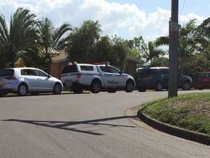 DRUG RAID: Police search West Gladstone unit