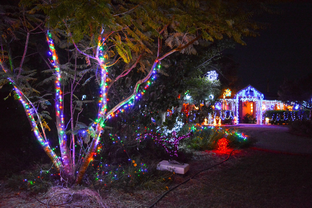 image for sale chinchilla christmas lights competition best decorated home winner tied 159