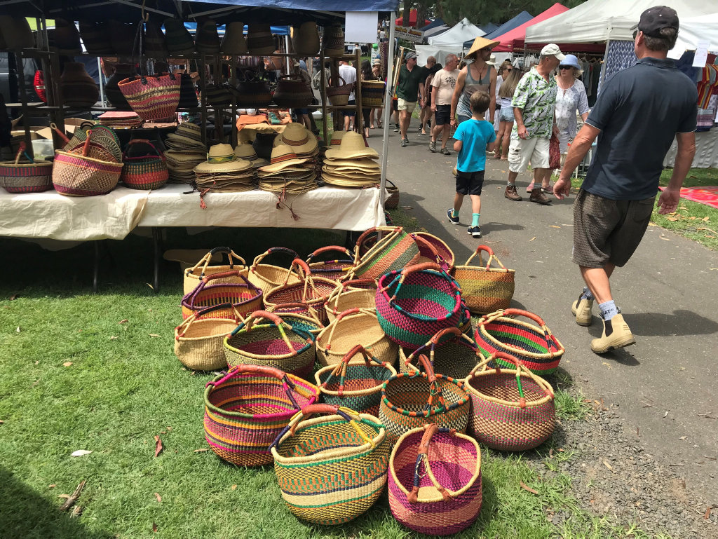 Craft and locally made products are a big part of each market every weekend on the Northern Rivers.