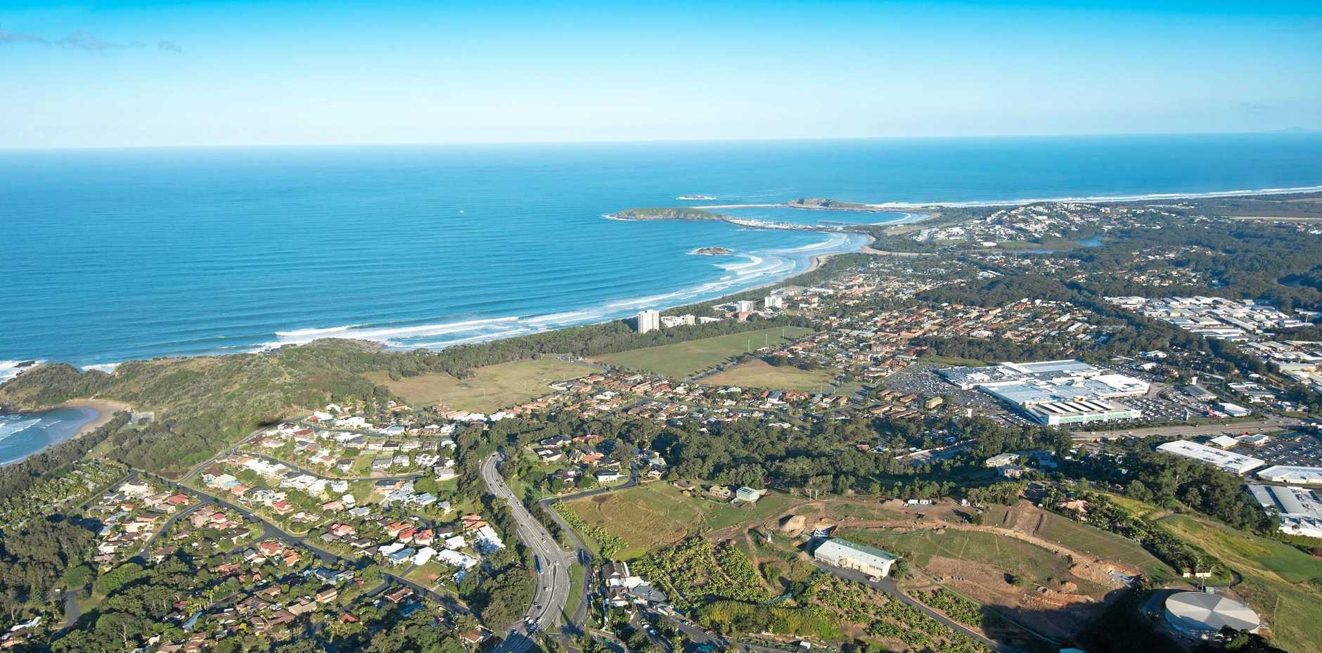Coffs Harbour has been identified as one of NSW's key growth areas over the two decades.