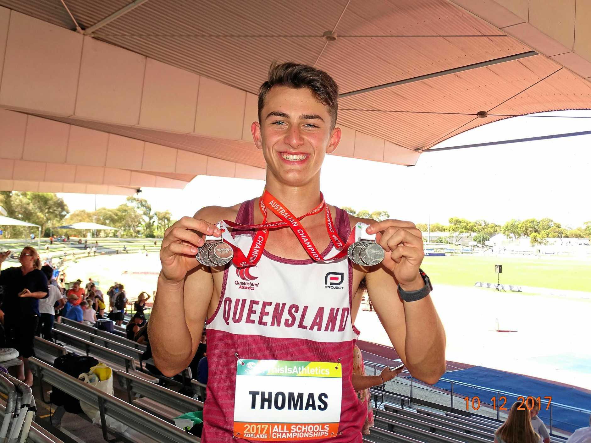 Ipswich athlete Benjamin Thomas