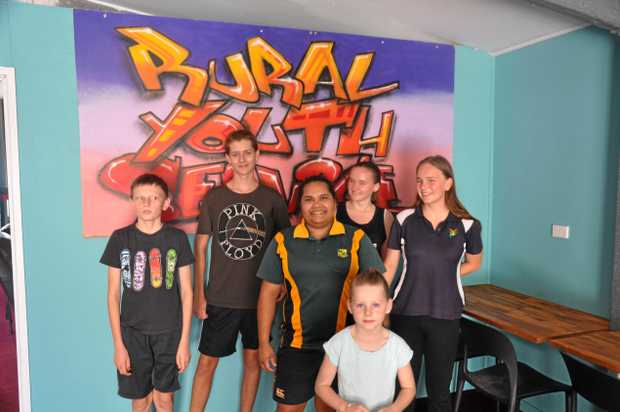 HANG OUT: The Monto Rural Youth Shed is open for the town's young community to enjoy.