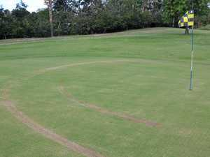 Golf club course a target for vandals