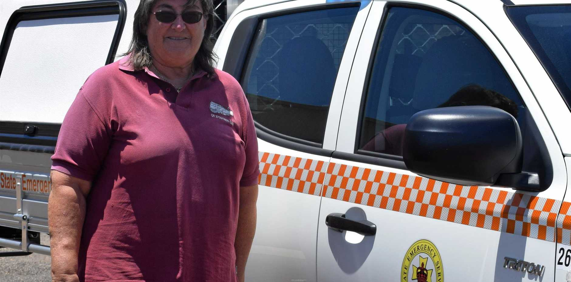 PASSIONATE: Carol Miller has been volunteering with the SES for the past five years and absolutely loves it.