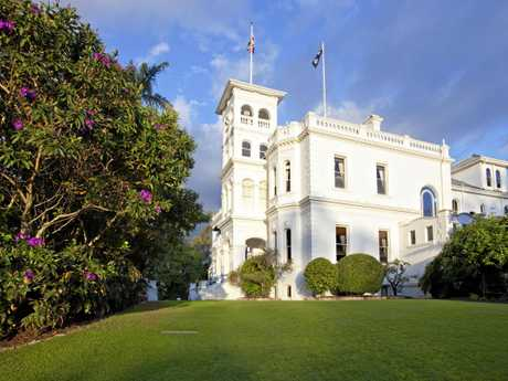HISTORIC RESIDENCE: Fernberg's current resident is Governor Paul de Jersey.