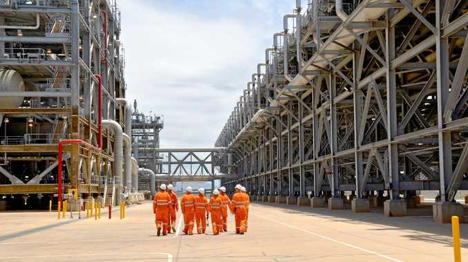 PRESSURE ON: Gas produced at Shell's QGC facility helps supply the domestic market.