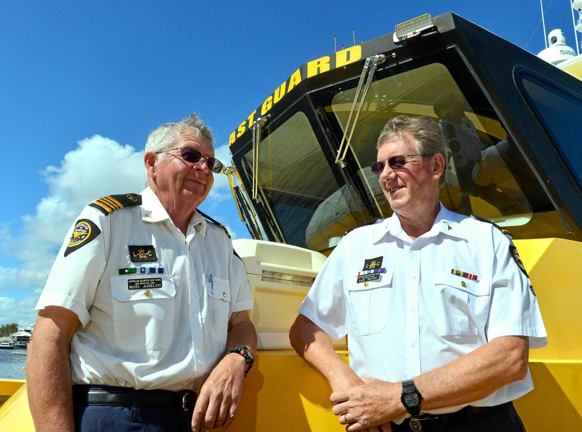 Stand down orders made earlier this year against Coast Guard Mooloolaba senior skippers Rod Ashlin and Ian Hunt have been rescinded.