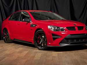 This HSV GTS-R W1 sedan is going to auction on Saturday.
