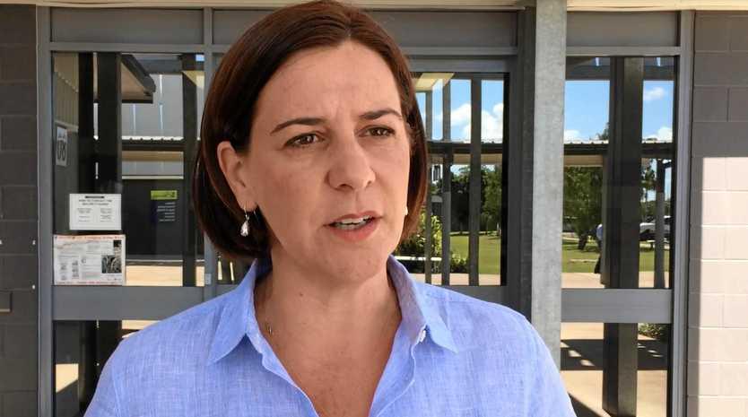 MISSED OPPORTUNITY: New LNP leader Deb Frecklington.