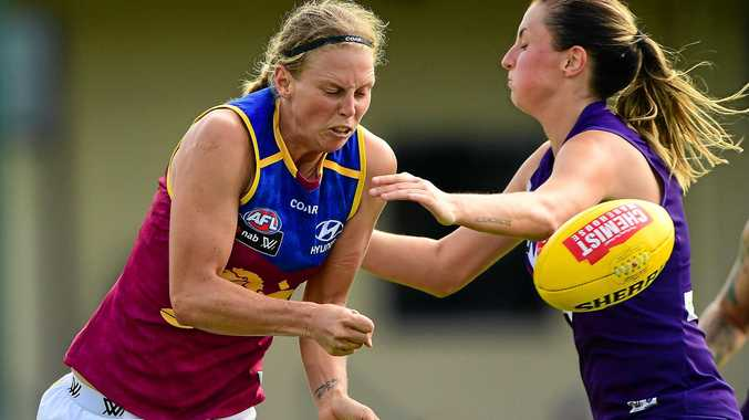 NO SWEAT: Kate Lutkins welcomes a new rule change to the AFLW competition in 2018.