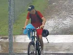 CCTV catches thief at Coast school bike rack