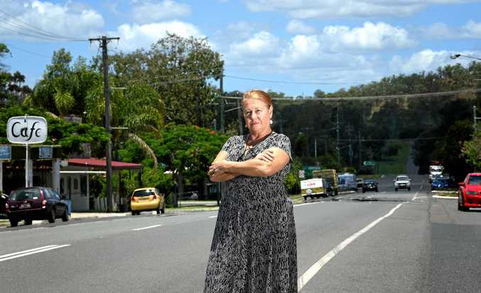 WHERE IS THE SMALL TOWN CHRISTMAS? Publican Sandi Brophy is one of the Kilkivan business people who say Gympie Regional Council has stolen it.